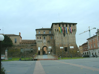 The Este Castle in Lugo di Romagna