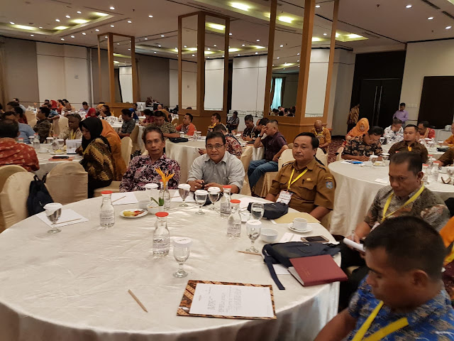 Kadis Desperindagkop hadiri Sosialisasi di Hotel Mercure Jakarta