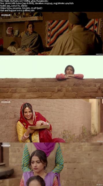 Rabb Da Radio 2017 HDRip 480p Punjabi