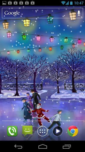 Live Wallpaper Keren Menyambut Hari Natal 2012 Full Review Hp