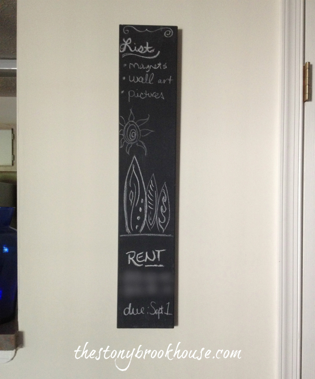 Mini chalkboard Wall Decor