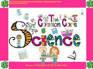 FREE Common Core Science Posters for PreK-3rd Grade