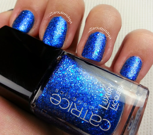 NOTW: Catrice Luxury Lacquers Million Brilliance - 02 Blue Skyfall