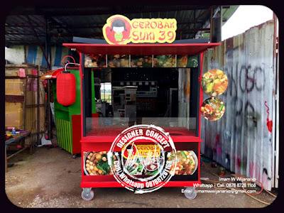 desain dan produksi gerobak sukiyaki