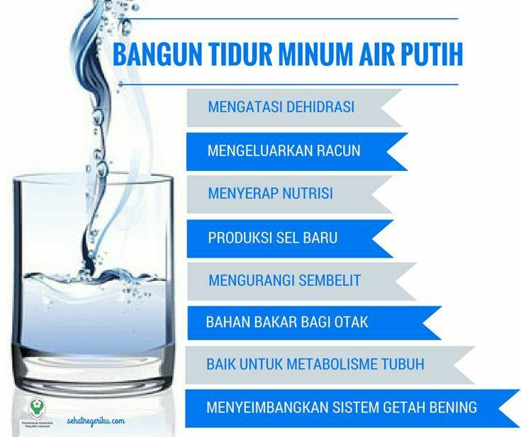 Amalan Minum Air Putih Selepas Bangun Tidur