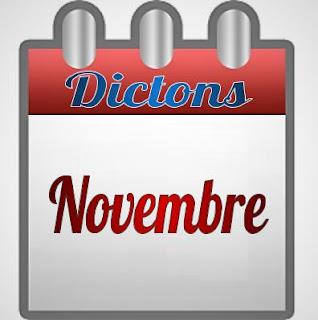 Dictons français pour le mois de Novembre