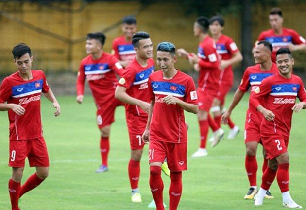 23 tuyển thủ Việt Nam đá trận vòng loại Asian Cup gặp Campuchia