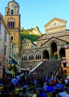 Amalfi's Duomo Cathedral Amalfi Coast Italy Costiera Amalfitana