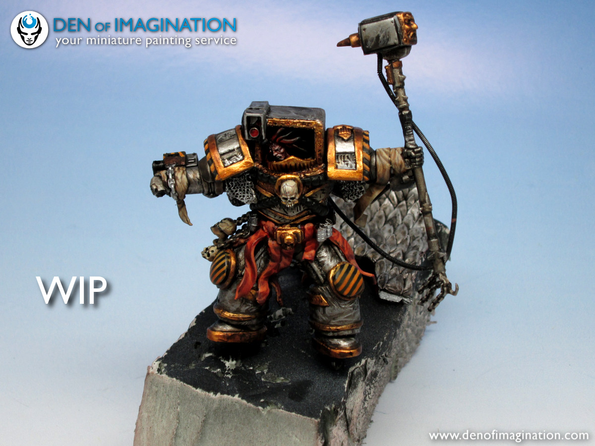 Blog Endurance of Iron Warrior wip