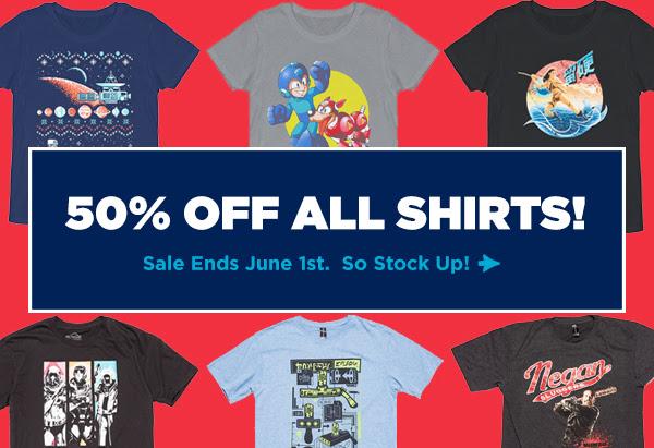 50% loot crate tshirts