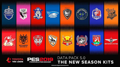 PES 2019 Official Datapack 5.00