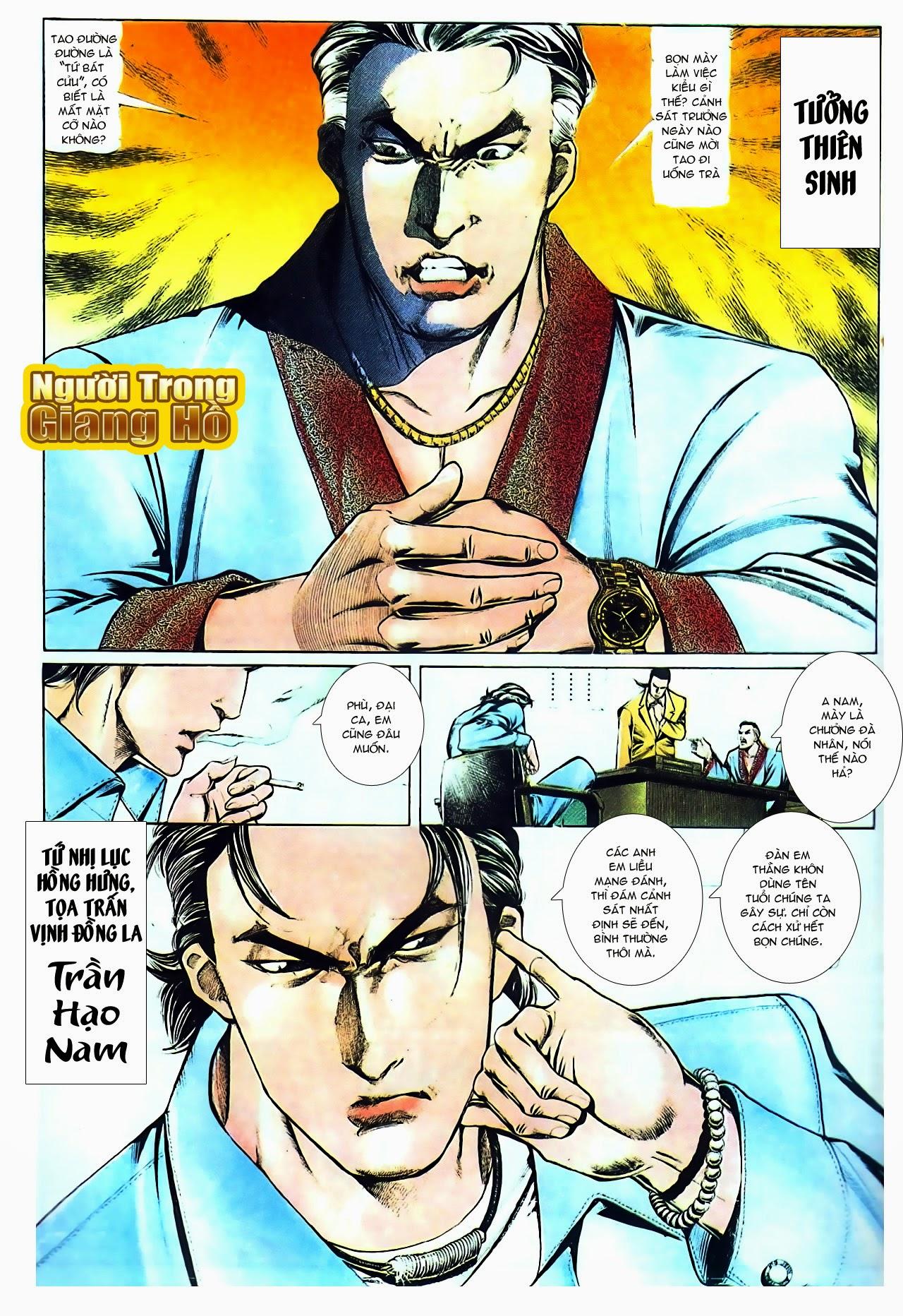 Người Trong Giang Hồ chapter 104: tuổi trẻ máu lửa trang 24
