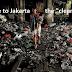 Keterlaluan ! Anies Biarkan Kolong Tol Tanjung Priok Buatan Jokowi Jadi Tempat Sampah