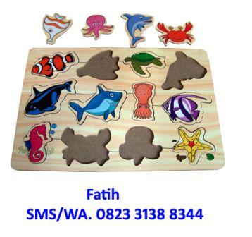 mainan puzzle sea