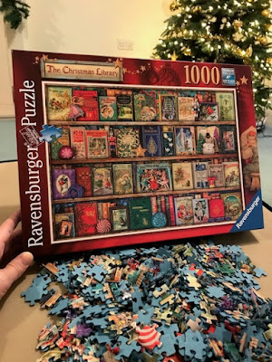 The Christmas library jigsaw puzzle from Ravensburger