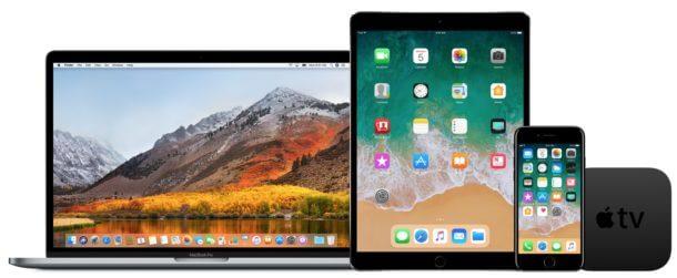 ابل تطلق iOS 11.2.5 وماك هاي سيرا 10.13.3 بيتا 3 للاختبار