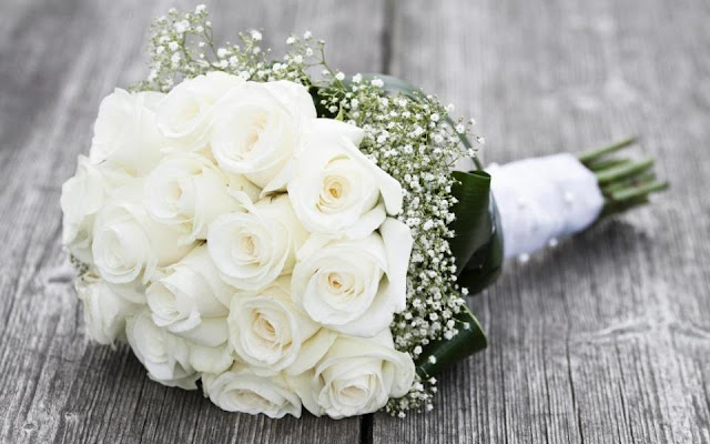 bó hoa hồng trắng đẹp nhất 2017 6