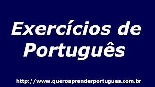 Exercícios de Português sobre Concordância Verbal, com gabarito