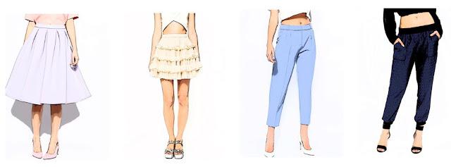 Как скрыть недостатки бедер и ног с помощью одежды
