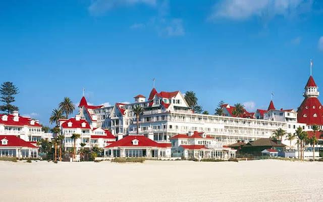 Hotel del Coronado - an iconic San Diego hotel in Coronado island