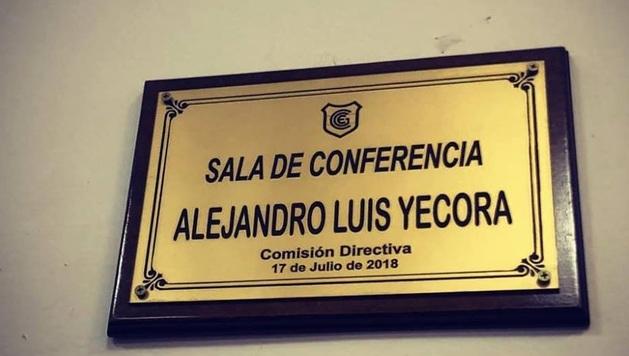 La Sala de Conferencias llevará el nombre de Alejandro Yécora