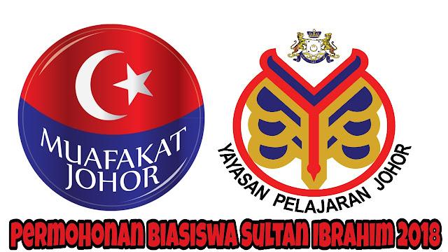 Permohonan Biasiswa Sultan Ibrahim 2018