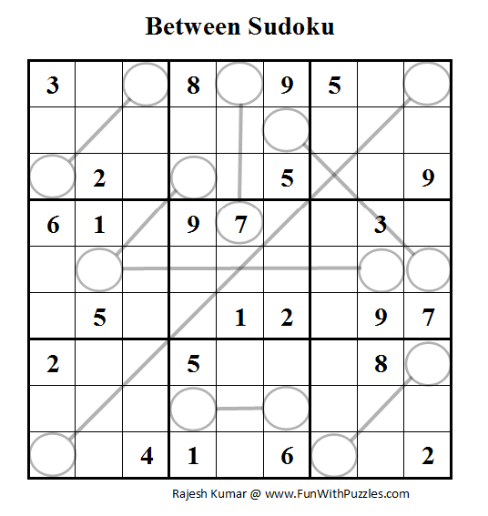 Between Sudoku (Daily Sudoku League #62)