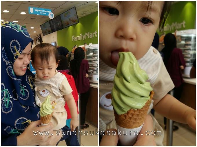 Bawak Aisyah ke Family Mart Seksyen 7, Shah Alam