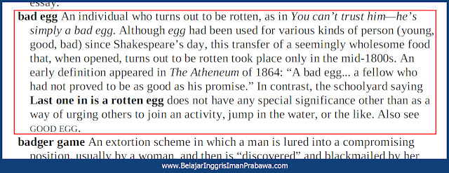 Arti Bad Egg
