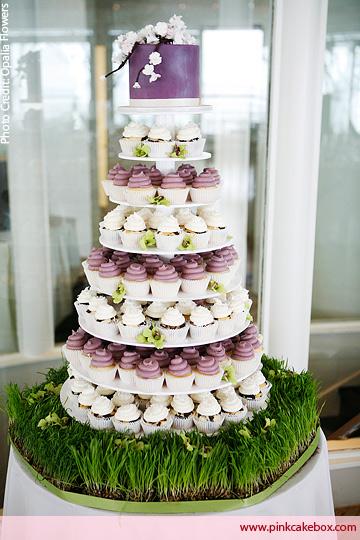 The Fanciful Wedding Cupcake Wedding Cakes