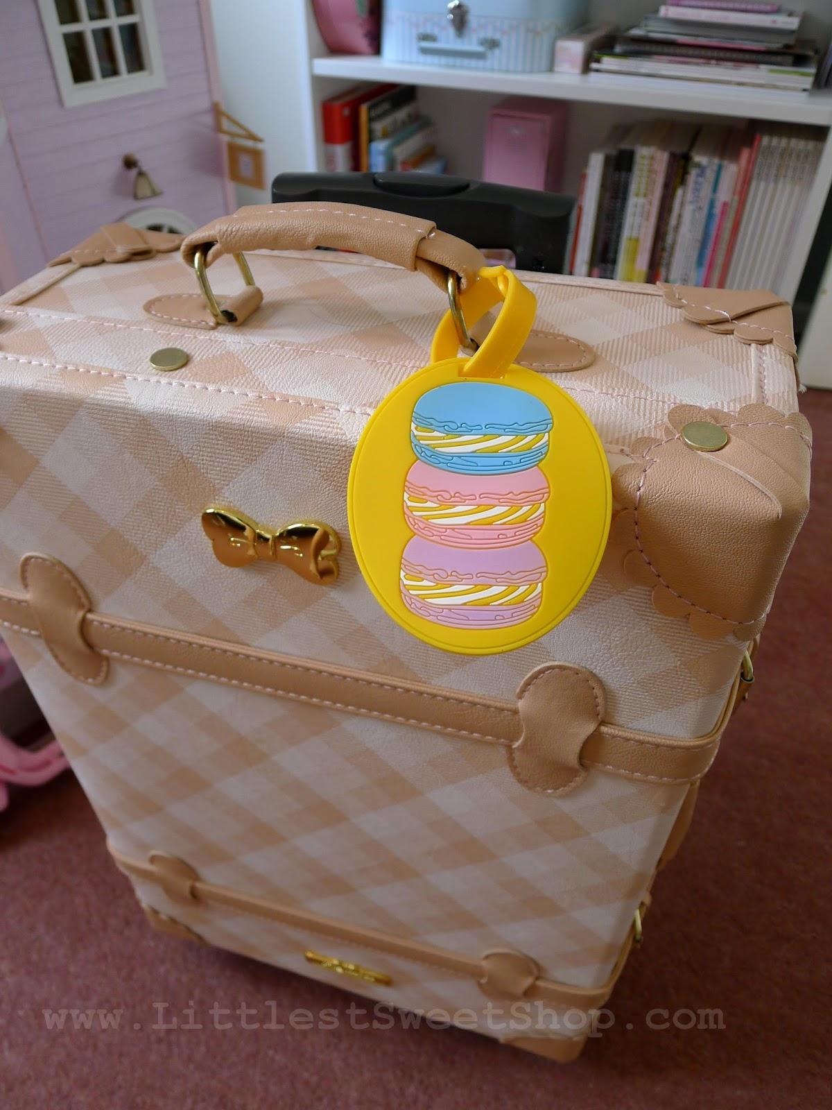 Littlest Sweet Shop Blippo Fukubukuro Review And Giveaway Luggage Tag Pikachu Macaron