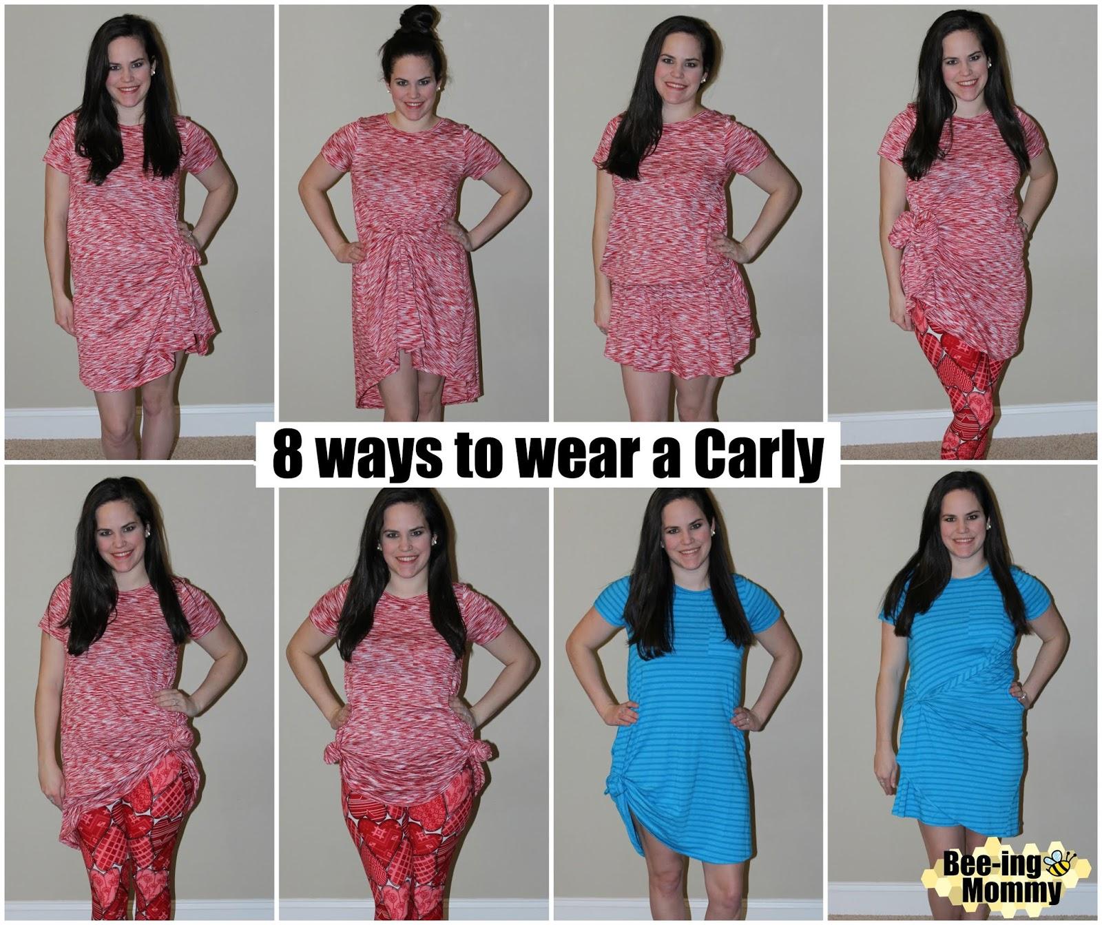bbf3ad3d03 LulaRoe Part 5  Dresses - different ways to style Amelia