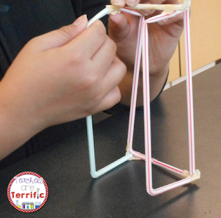 STEM Challenges: Straws are such a great material to use for your STEM projects. They are easy to use, come in many colors and sizes, and they are inexpensive! This project was a tower event and the kids only received twelve straws!