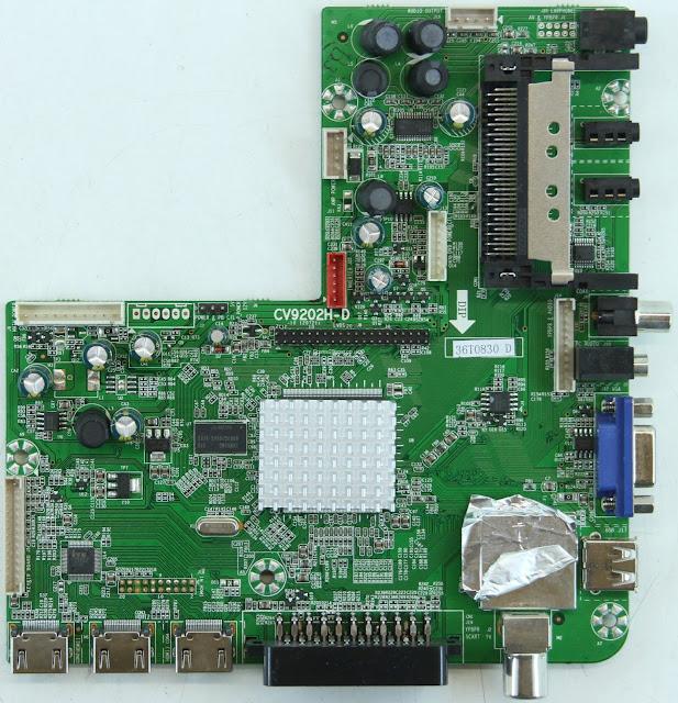 CV9202H-D Universal LED TV Board Software Free Download
