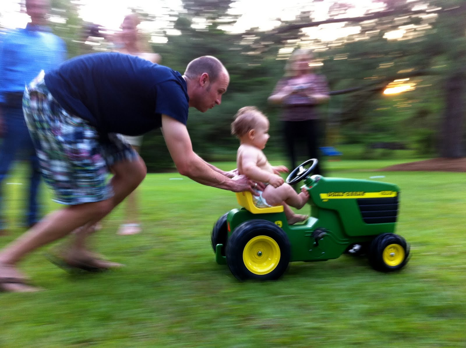 Good Times Taylor I Ll Take You For A Ride On My Big Green Tractor