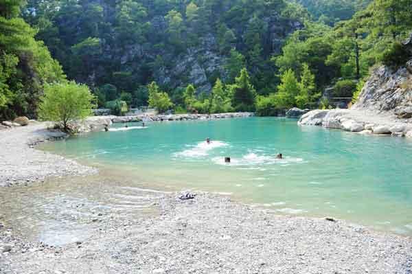 وادي غوينوك..عنوان الإثارة والمتعة في مدينة #أنطاليا التركية