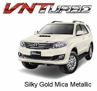 Fortuner Silky Gold Mica Metallic