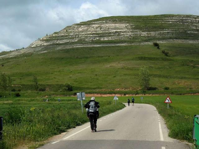 Messeta - droga do Taradajos, Camino, Jola Stępień