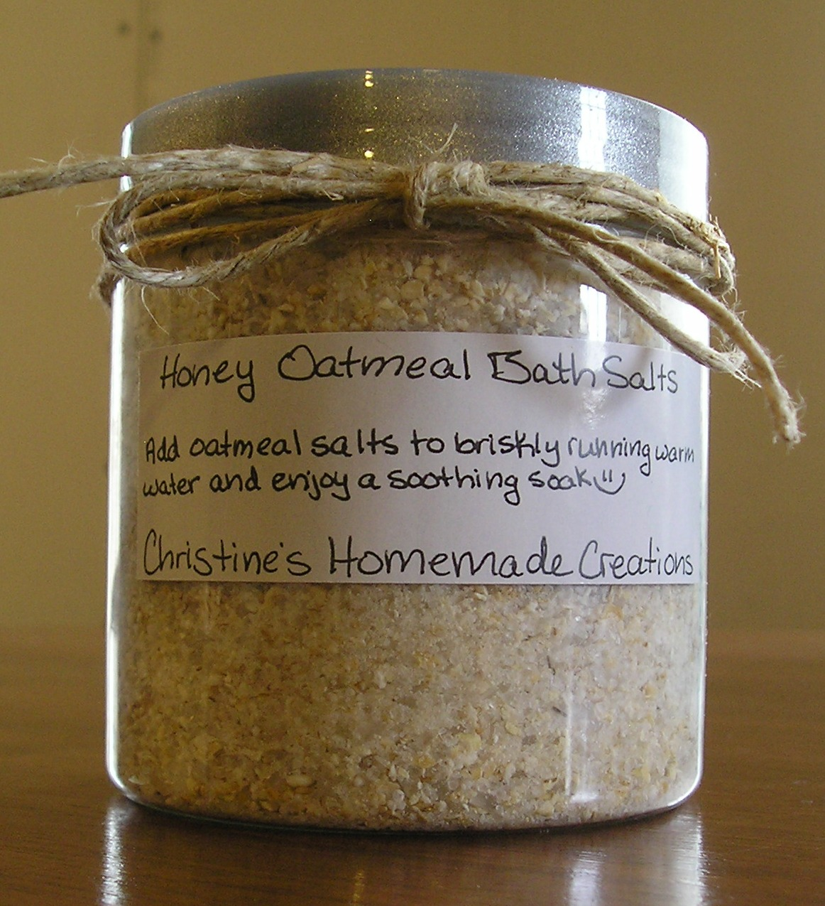 Oatmeal Bath Salts Salicylate Free Christine S Cozy Corner