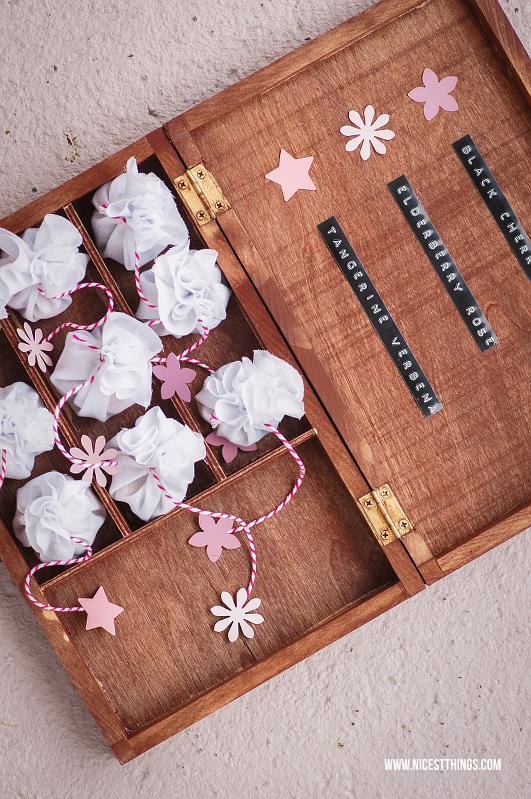 DIY Tea Bags Teebeutel selber machen ohne Nähen