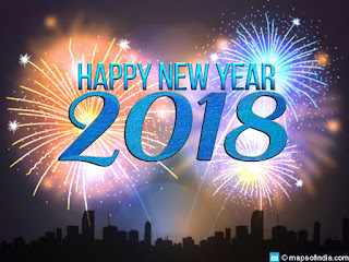 New Year 2018 Wallpaper and SMS, Happy New Year 2018 Greetings Cards