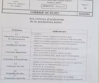 36310233 10204705644716853 6955512180808613888 n - الإصلاح الرسمي لإختبار حسب وزارة التربية لإختباري الإيقاظ و الفرنسية نموذجي سيزيام 2018