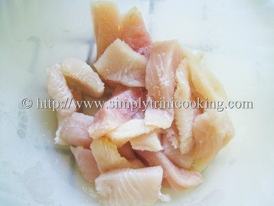 Sweet and Sour Fish Fillet