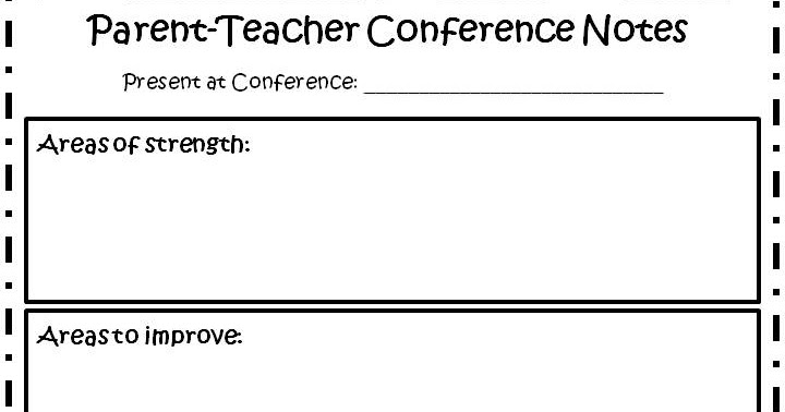 image about Printable Parent Teacher Conference Forms called The Wonderful 1st Quality: Dad or mum Instructor Meetings Created