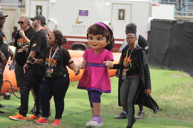 Photos: Spongebob, Dora, Shimmer & Shine, Paw Patrol, The teenage Mutant Ninja Turtles, Yemi Alade, Mr Eazi & more at NickFest