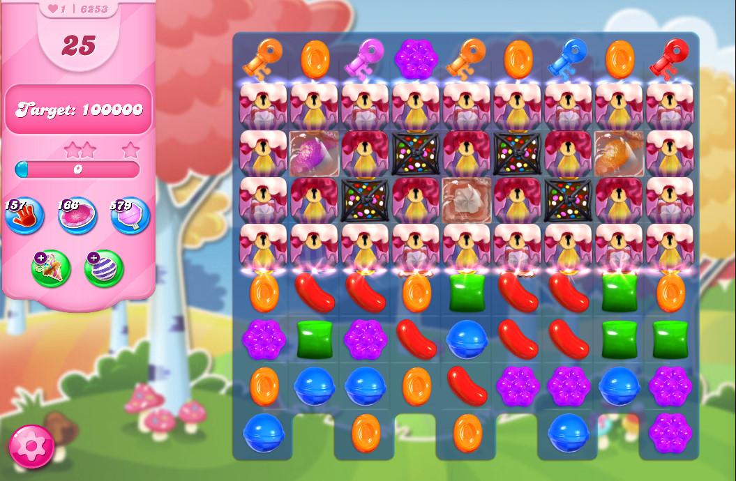 Candy Crush Saga level 6253