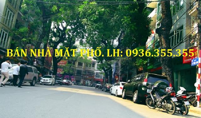 Bán nhà mặt phố Lê Văn Linh - Hoàn Kiếm