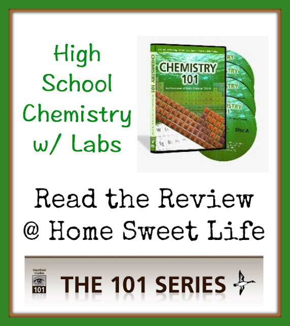 Homeschool science, High School Science, Chemistry