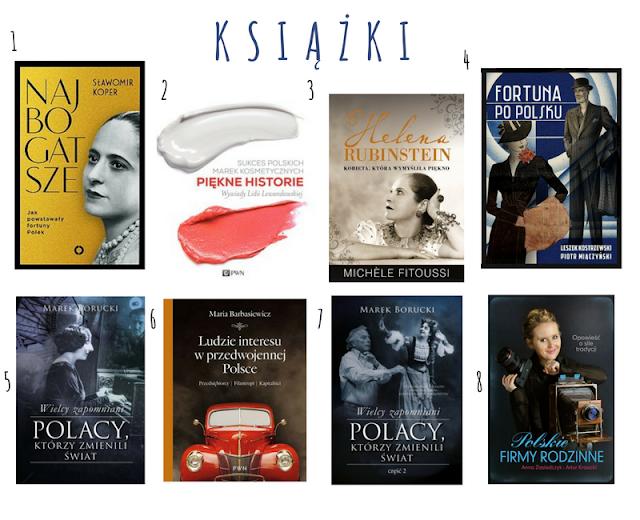 Książki o inspirujących osobowościach i polskich przedsiębiorcach