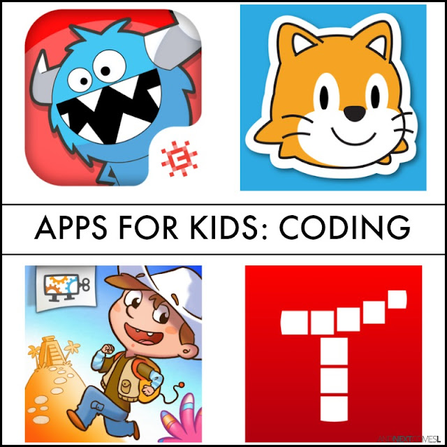 Coding apps for kids from And Next Comes L